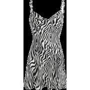 Zebra print slim fashion dress - Haljine - $25.99  ~ 165,10kn