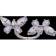 Zircon Butterfly Open Ring Nhim271123 - Prstenje -