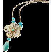 フラワーネックレス/Lブルー - Jewelry - ¥12,600  ~ $111.95