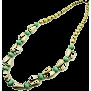 アクリルロングネックレス/グリーン - Jewelry - ¥6,930  ~ $61.57