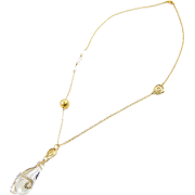 クリスタルネックレス/ゴールド - Jewelry - ¥18,900  ~ $167.93