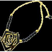 デザートローズネックレス/ブラック - Jewelry - ¥11,550  ~ $102.62