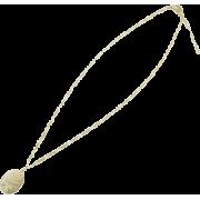 ローズモチーフネックレス/アイボリー - Jewelry - ¥7,350  ~ $65.31