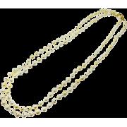 パールネックレス/シャンパンゴールド - Jewelry - ¥12,600  ~ $111.95