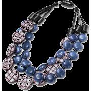 アクリル3連ネックレス/ブルー - Jewelry - ¥39,900  ~ $354.51
