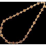 レースチェーンネックレス/ピンクゴールド - Jewelry - ¥7,770  ~ $69.04