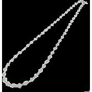 レースチェーンロングネックレス/シルバー - Jewelry - ¥8,400  ~ $74.63