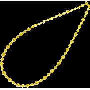 レースチェーンロングネックレス/ゴールド - Jewelry - ¥9,870  ~ $87.70
