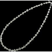レースチェーンロングネックレス/シルバー - Jewelry - ¥9,870  ~ $87.70