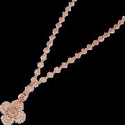 レースチェーンネックレス/ピンクゴールド - Jewelry - ¥15,750  ~ $139.94