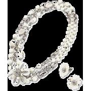 シェルネックレス&イヤリングセット/パープル - Jewelry - ¥168,000  ~ $1,492.69