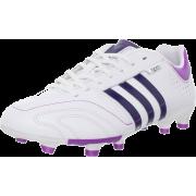 adidas Women's 11Nova TRX FG Soccer Cleat White/Night Sky/Ultra Purple - Sneakers - $64.95