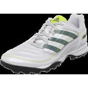 adidas Women's Predito_X TRX TF Soccer Shoe Predator Running White Metallic/Acid Buzz/Lone Blue - Sneakers - $50.00