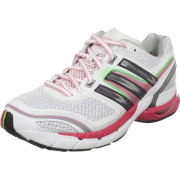 adidas Women's adiSTAR Salvation 2 Running Shoe Running White/Black Red Metallic/Metallic Silver - Sneakers - $77.00