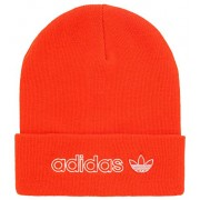 adidas Originals Men's Forum Outline Beanie, Active Orange/White, ONE SIZE - Czapki - $22.00  ~ 18.90€