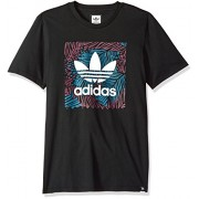 adidas Originals Men's Skateboarding Blackbird Palm Tee - 平鞋 - $21.49  ~ ¥143.99
