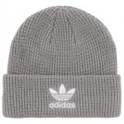 adidas Originals Men's Trefoil Plus Beanie, Stone Reflective/White, ONE SIZE - 棒球帽 - $30.00  ~ ¥201.01