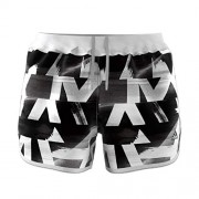 adidas Women's DQ2651 Marathon 20 Speed Split Shorts, White/Black, M - Akcesoria - $49.97  ~ 42.92€