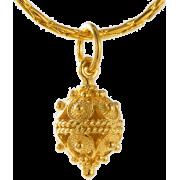 ドブロブニクのボタン ペンダントヘッド(14金)小 - Necklaces - ¥23,000  ~ $204.36