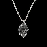 ドブロブニクのボタン(ダークシルバー)ゴスパリ トリトン - Necklaces - ¥19,200  ~ $170.59