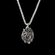 ドブロブニクのボタン(ダークシルバー)ゴスパリ エッグ /g - Necklaces - ¥20,000  ~ $177.70