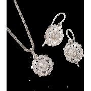 ドブロブニクのボタン(シルバー)ズビエズダ トゥリ /zvi - Earrings - ¥18,000  ~ $159.93