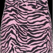 ashley williams, zebra, pink - Skirts -