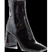 black boots1 - Buty wysokie -