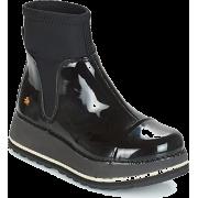 black boots - Buty wysokie -