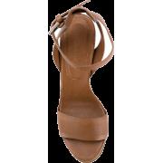brown sandal 1 - Sandale -
