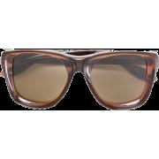brown sunglasses - Sončna očala -
