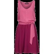 casual pink dress - Kleider -