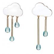 chance of rain earrings - Ohrringe -