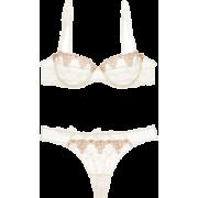 Conjunto de lencería de encaje White Nig - Pajamas -