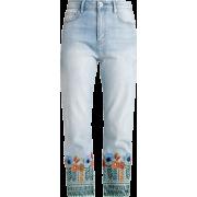 copenhagen flower jeans - Джинсы -