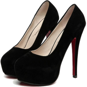 Crne Stikle - Classic shoes & Pumps -
