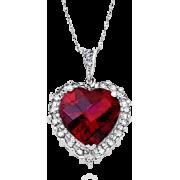 Crvena Ogrlica - Necklaces -