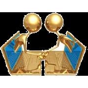 Gold laptops - Figura -