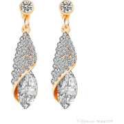 diamond earrings - Earrings -