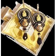 earrings - Belt -