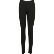 elastic trousers - Leggings -