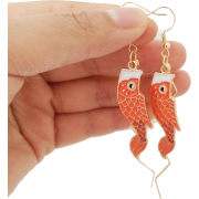 fish earrings - Naušnice - $8.00  ~ 50,82kn