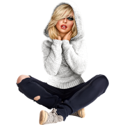 girl sitting - People -