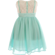 Haljina Dresses Blue - Vestidos -