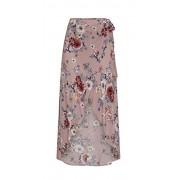 &harmony Women's Wrap Skirt - Ladies Tropical Flower Print Asymmetrical Skirt - Dresses - $23.99  ~ £18.23