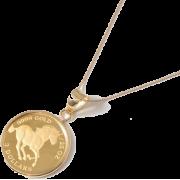 horse pendant - Necklaces -
