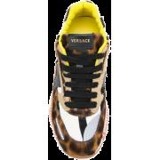 leopard print sneakers VERSACE - Sneakers -