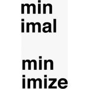 Minimal - Besedila -