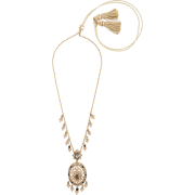 necklace with dreamcatcher pendant - Necklaces - $3.00