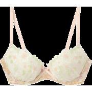 AMPHI(アンフィー)amphi花柄刺繍ブラジャーB/C - 内衣 - ¥3,990  ~ ¥237.54